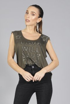 Remera Boguie Strass en internet