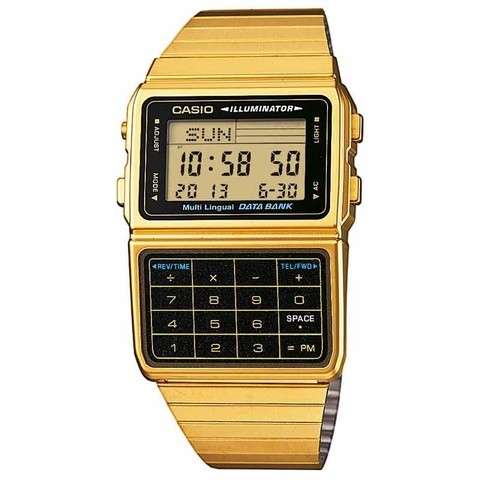 Relógio Casio Data Bank DBC-611G-1DF Masculino