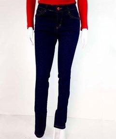 0eba133ec Roupas Femininas Calça Jeans Com Lycra Azul Escuro Jegging