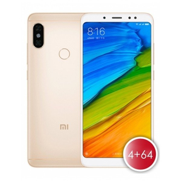Xiaomi Redmi Note 5 4+64GB GOLD