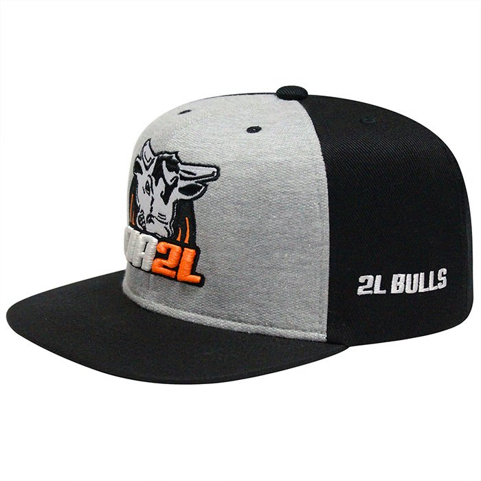 d16dccbac4fdd Boné Snapback Cinza e Preto - Comprar em Cia 2L Bulls