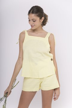 Short Josefina amarillo - Filia Clothes