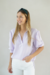 Blusa Preppy lila - Filia Clothes