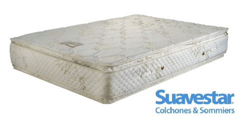 Colchón Boreal Bamboo Pillow Top - Resortes Continuos