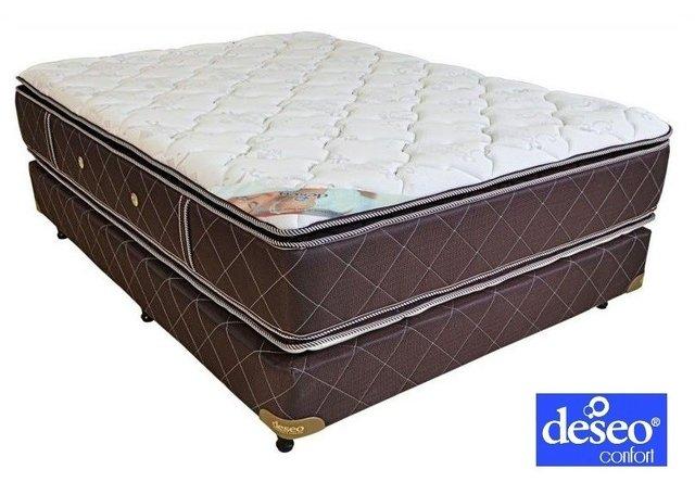 colch n y sommier topacio espuma alta densidad. Black Bedroom Furniture Sets. Home Design Ideas
