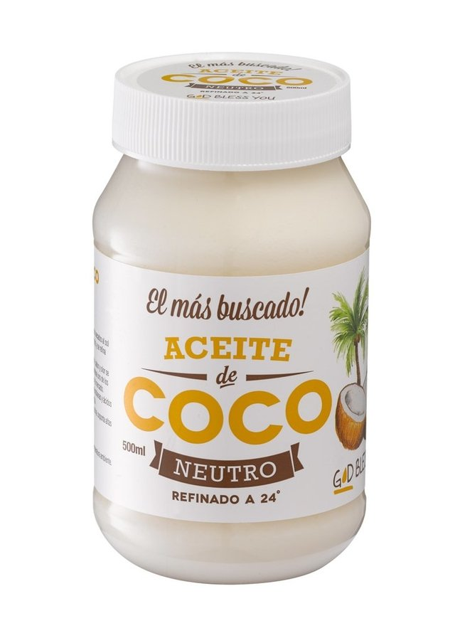 ACEITE DE COCO NEUTRO 500ml