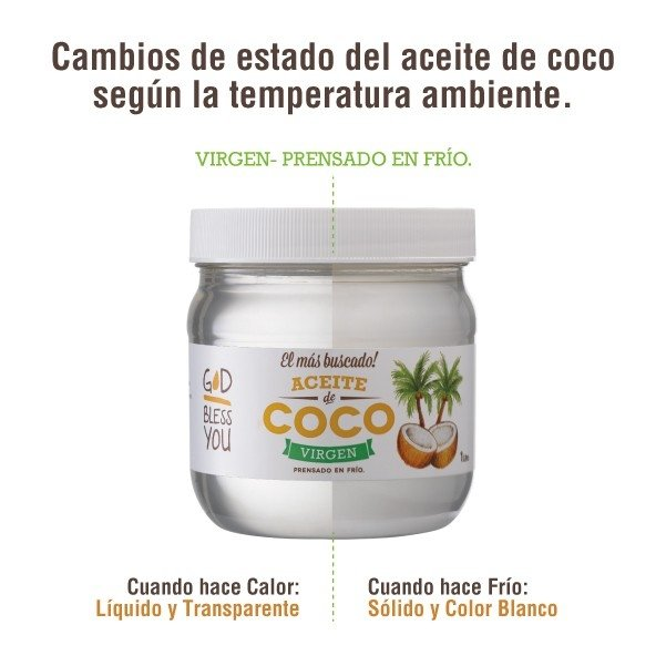 ACEITE DE COCO VIRGEN 500ml en internet