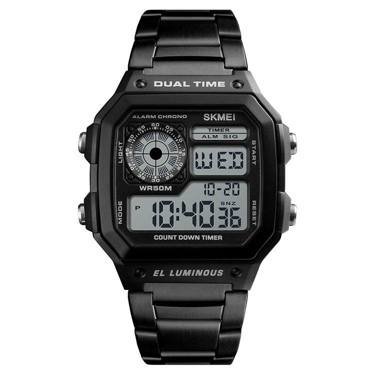 código promocional 31ab2 8c9f9 Reloj Digital de Hombre SKMEI 1335 Negro