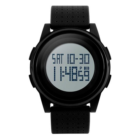 Reloj Digital SKMEI 1206 Negro con Display Neutro
