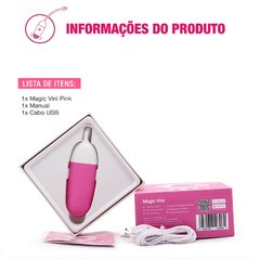 Vibrador Vini Pink - Magic Motion - loja online