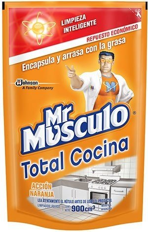 3 Unidades - Mr Musculo Cocina Advanced Dp x900 Cm3