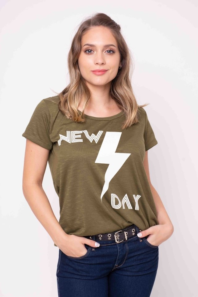 Remera New Day Art:3297