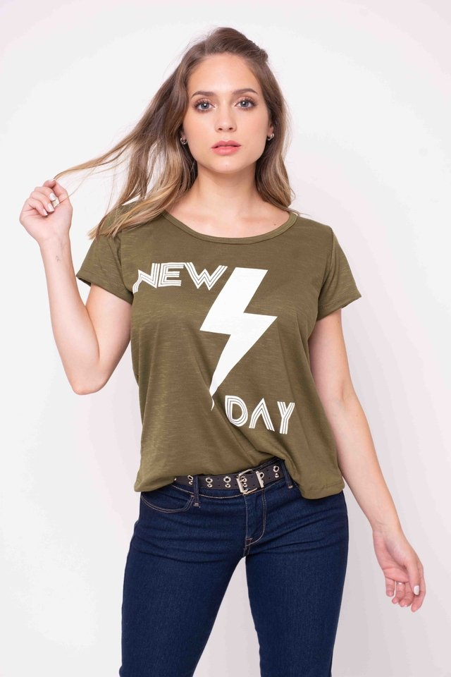 Remera New Day Art:3297 - comprar online