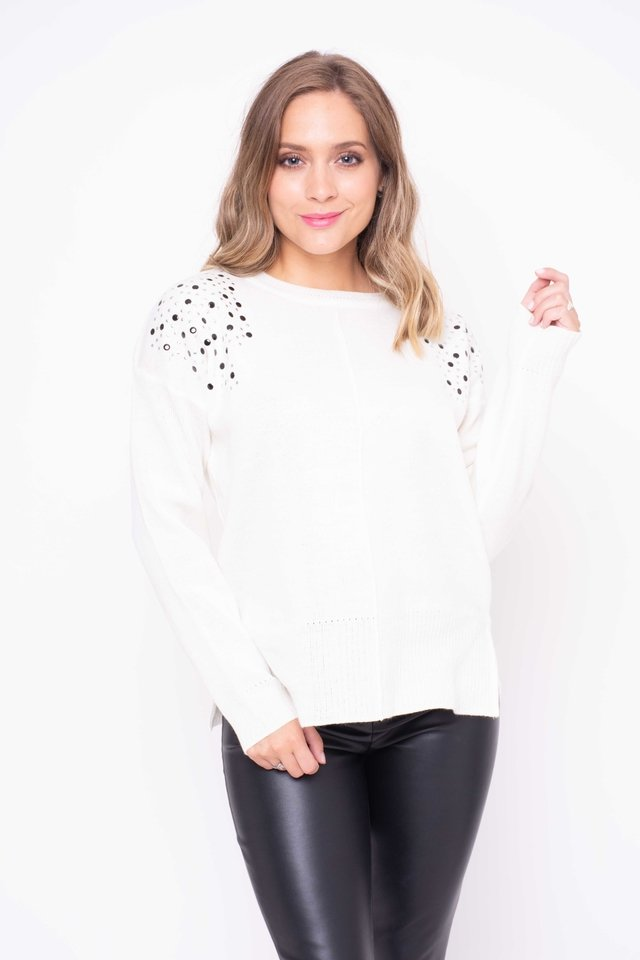 Sweater Marlene con Tachas Art:3131 en internet