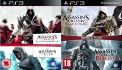 PS3 - ASSASSINS CREED COLLECTION (4 JUEGOS)