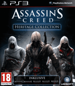 PS3 - ASSASSINS CREED HERITAGE COLLECTION (5 JUEGOS)