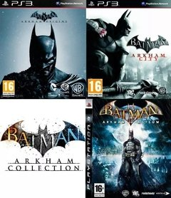 PS3 - BATMAN: ARKHAM COLLECTION (3 JUEGOS)