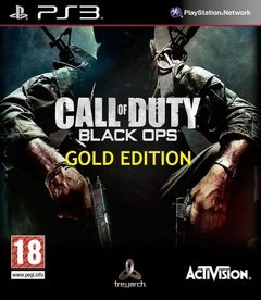 PS3 - COD BLACK OPS 1 GOLD EDITION ESPAÑOL