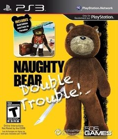 PS3 - NAUGHTY BEAR GOLD DOUBLE TROUBLE (2 JUEGOS)