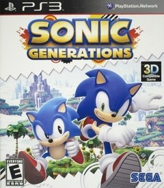 PS3 - SONIC GENERATIONS