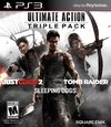 PS3 - ULTIMATE ACTION TRIPLE PACK (INCLUYE: TOMB RAIDER, JUST CAUSE 2 Y SLEEPING DOGS)