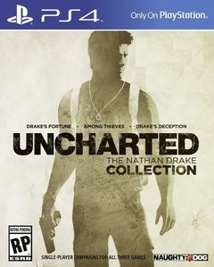 PS4 - UNCHARTED: DRAKE'S COLLECTION | PRIMARIA (3 JUEGOS)