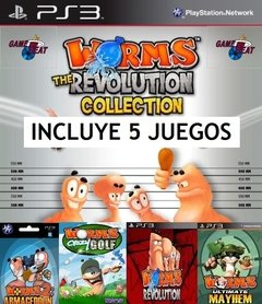 PS3 - WORMS COLLECTION (5 JUEGOS)