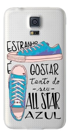 All Star Azul na internet