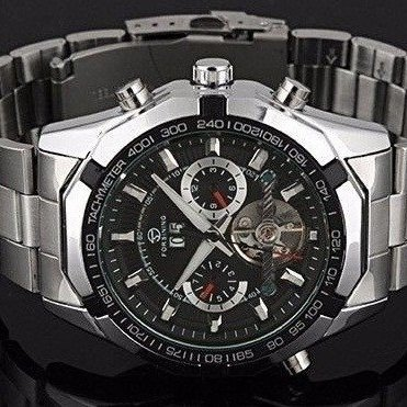 1eac61e8e3a ... Relógio Automático Forsining Tourbillon - loja online ...