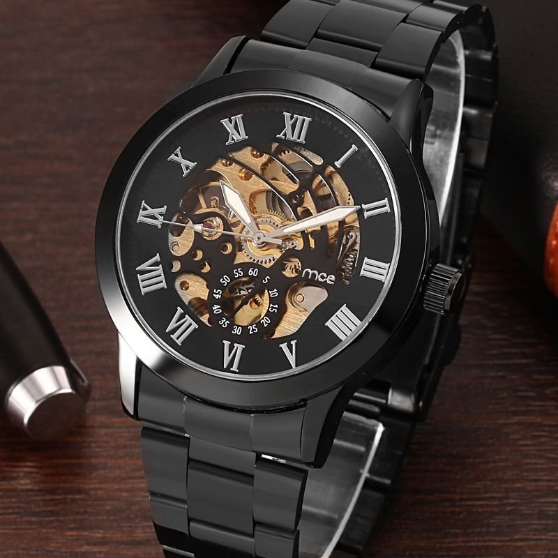 79ca62a86ae ... Relógio MCE Gold Luxo - loja online ...