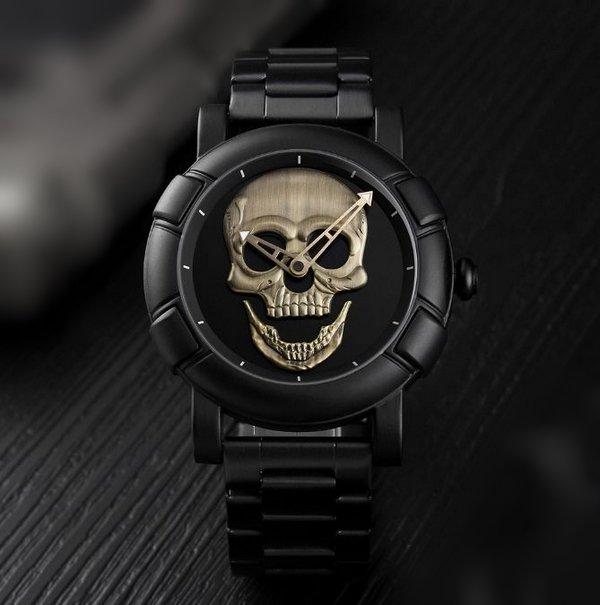 14e4a3bf88b Relógio Masculino Skmei Skull