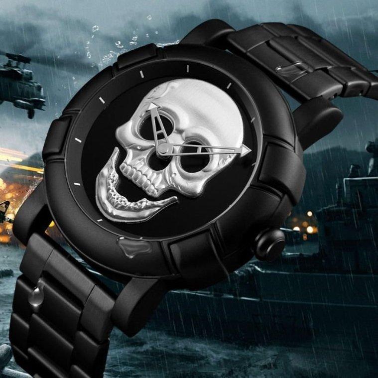 6075298ff6c ... Imagem do Relógio Masculino Skmei Skull ...
