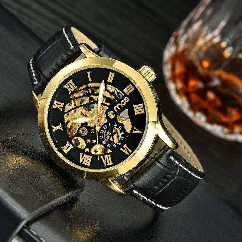 2a9e457df6a ... Relógio MCE Gold Luxo na internet ...