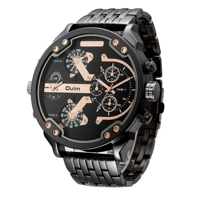 b64c5a19b8c Relógio Oulm Big Watch