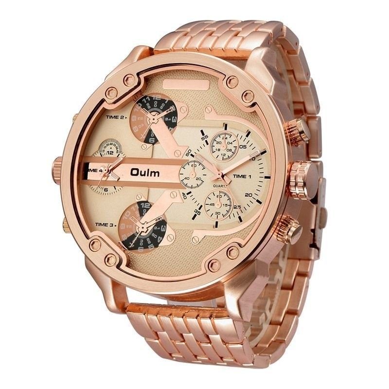 6ab75e8ed1e ... internet Relógio Oulm Big Watch - Thelo Store ...