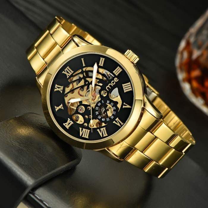 c203d43a135 ... Relógio MCE Gold Luxo - comprar online ...