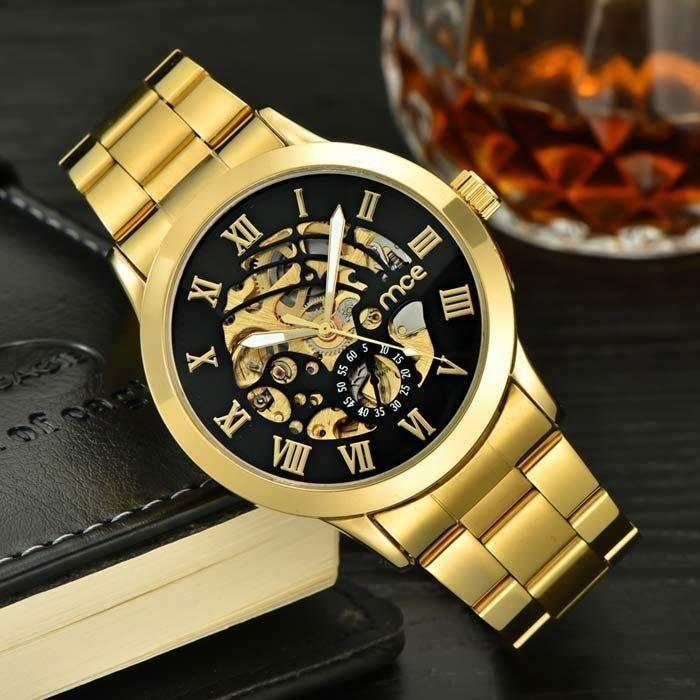 eeae56932a7 ... internet Relógio MCE Gold Luxo - Thelo Store ...