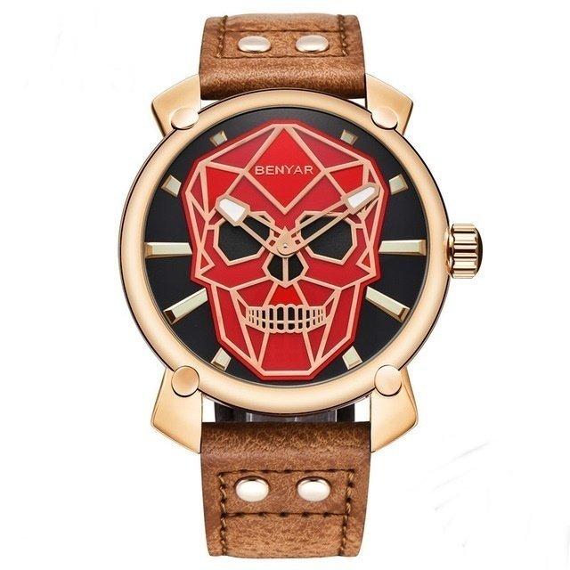 fff82602bd6 Relógio Masculino Skmei Skull
