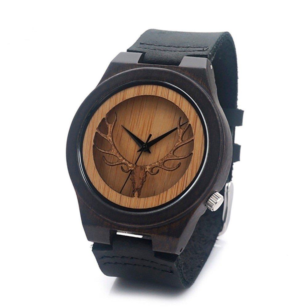 aebdadd6781 Relógio Bobo Bird Madeira Black BBM061