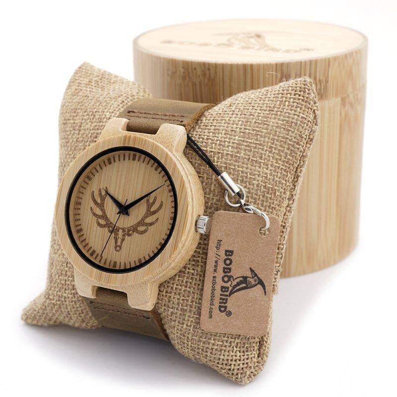 a887467730c Relógio Madeira Bobo Bird BBM060