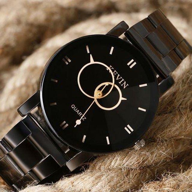 fd507aad256b8 ... Relógio Kevin Black Diamond - comprar online ...