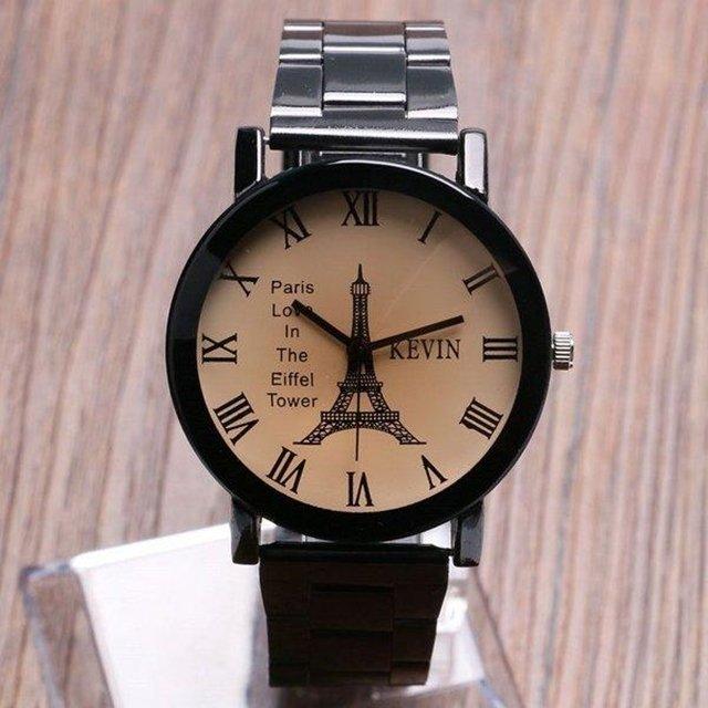045d770baa418 ... Relógio Kevin Black Eiffel - comprar online ...