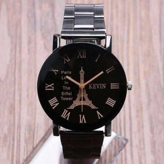 d52bb95175d3b ... Relógio Kevin Black Eiffel - loja online