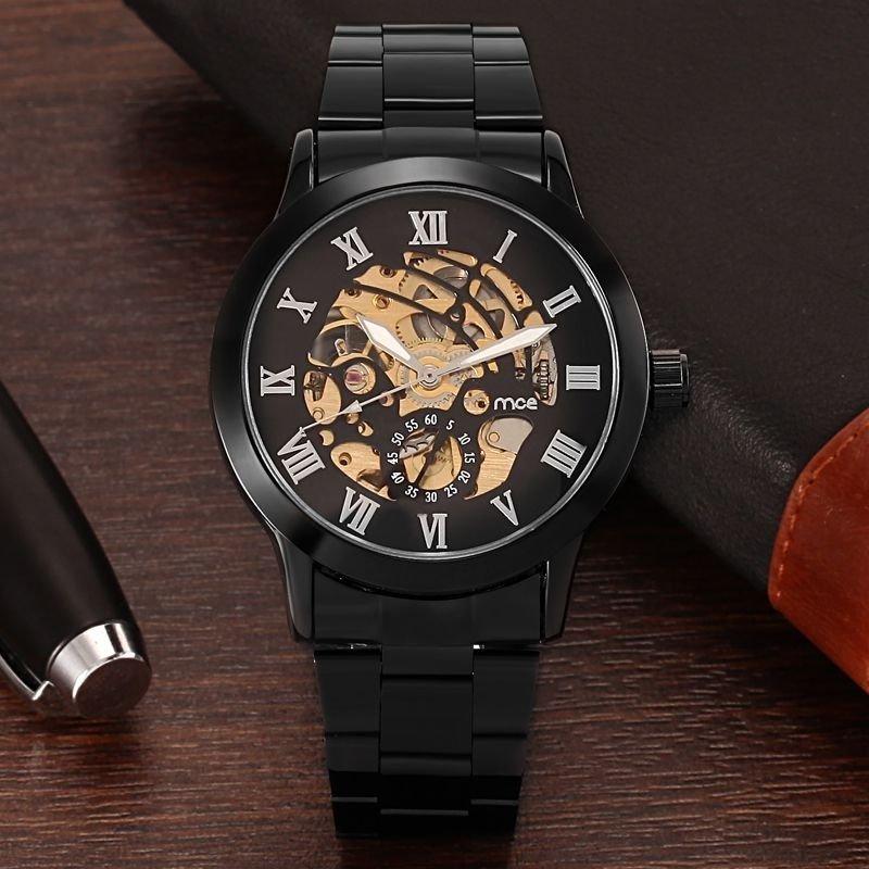 7d22b02a000 ... Relógio MCE Gold Luxo na internet