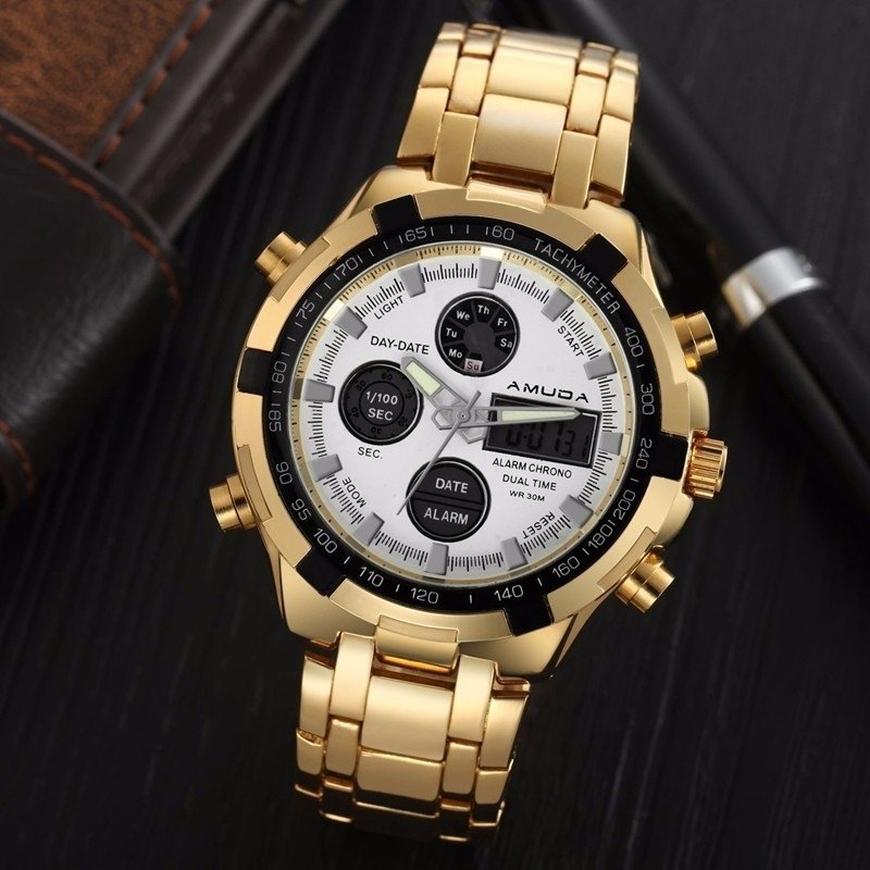 f0e64e92cbf ... Relógio Amuda Quartz Luxo na internet ...