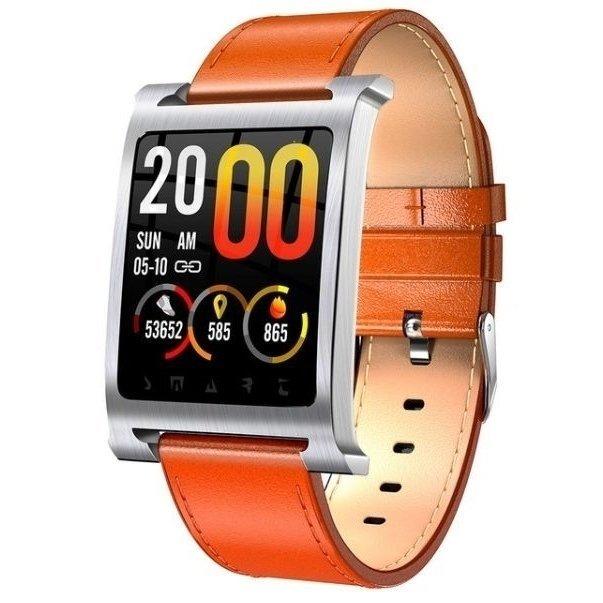 8e30f065fcd Smartwatch Relógio Eletrônico Magnus K6 Inox