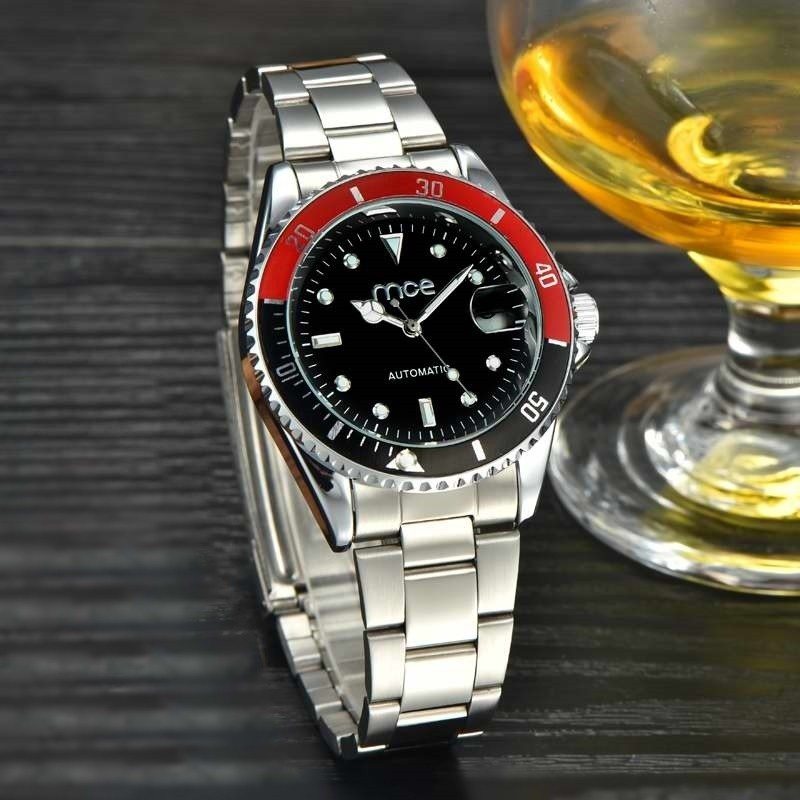 33e0d38e4be ... Relógio Mce Automático Gold Black - comprar online