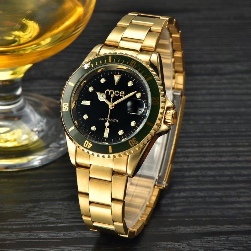 f9c291ca70b Relógio Mce Automático Gold Black Relógio Mce Automático Gold Black -  comprar online ...