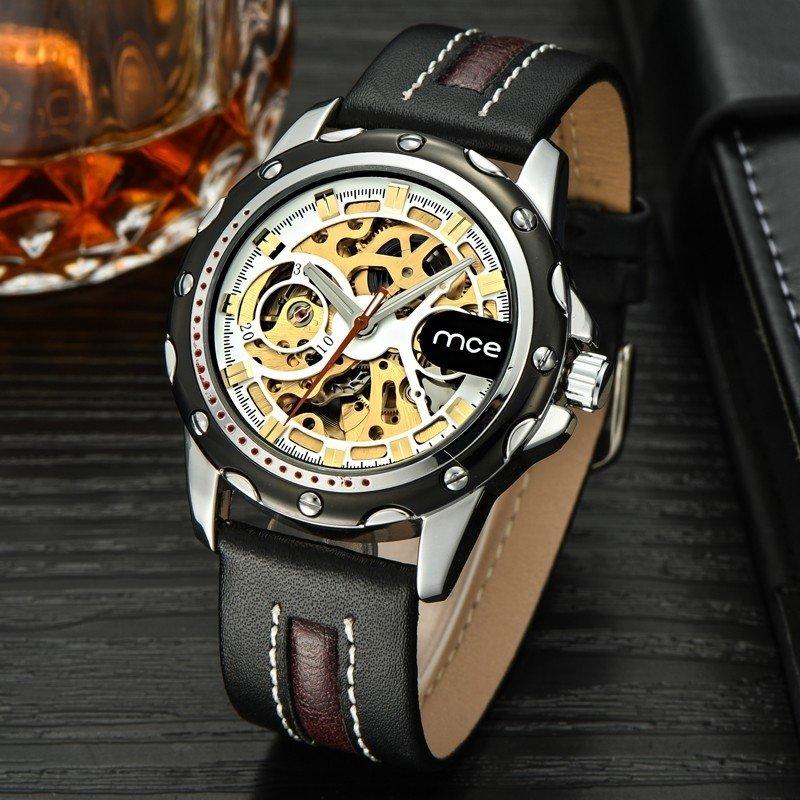 5c269d434d1 ... Relógio Mce Automático Screw Edition na internet ...