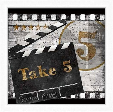 Action, Motion Picture, Take Five, On The Set - Conrad Knusten - loja online